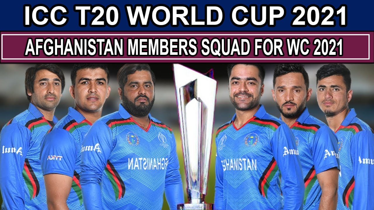 Afghanistan Team Squad for ICC T20 World Cup 2021