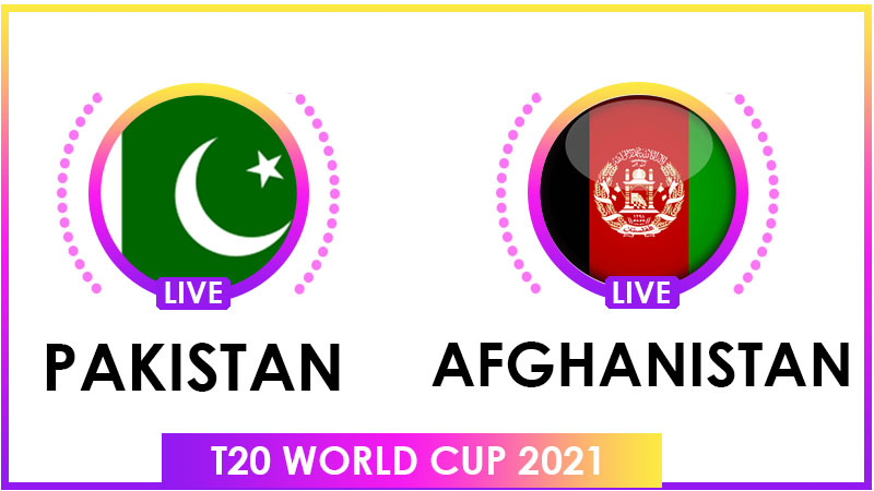 Afghanistan vs Pakistan T20 World Cup Live Streaming