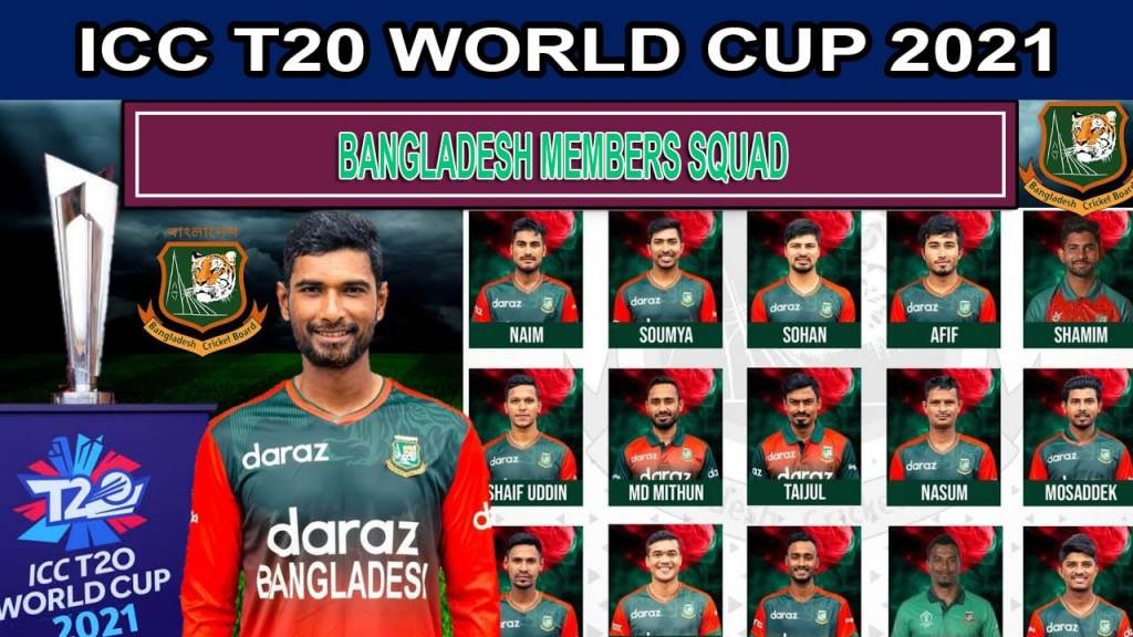Bangladesh Team Squad for ICC T20 World Cup 2021 Players List