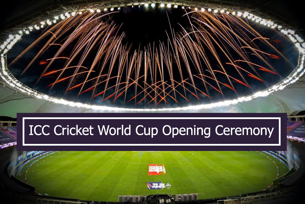 ICC Cricket World Cup 2021 Opening Ceremony