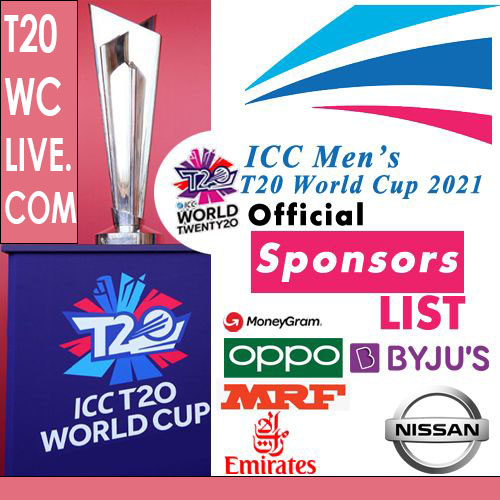 List of ICC Official Partners & Sponsors