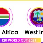 South Africa vs West Indies Live Score