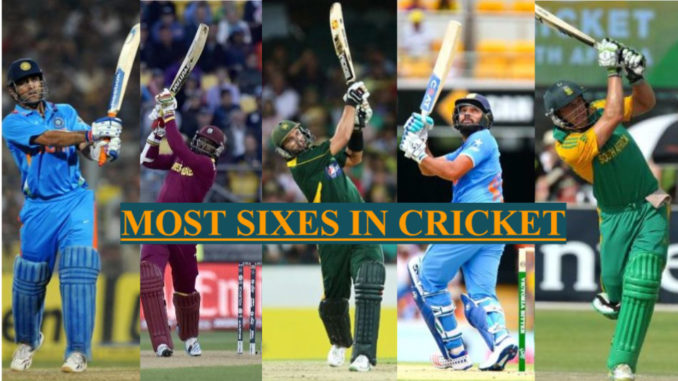 T20 Record Most Sixes in T20 International World Cricket Cup